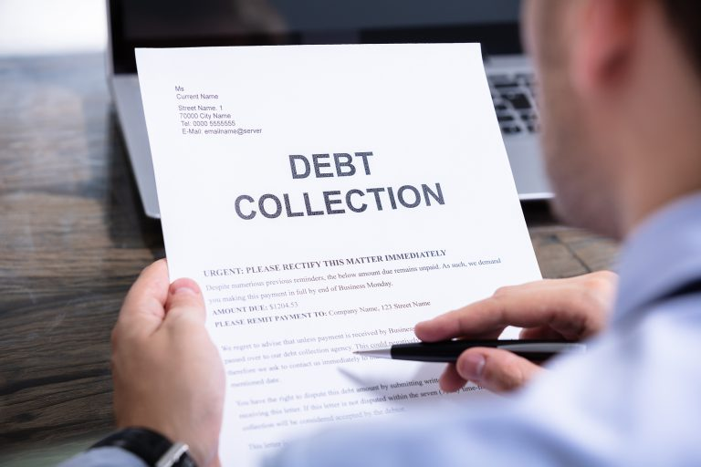 debt collection on credit report