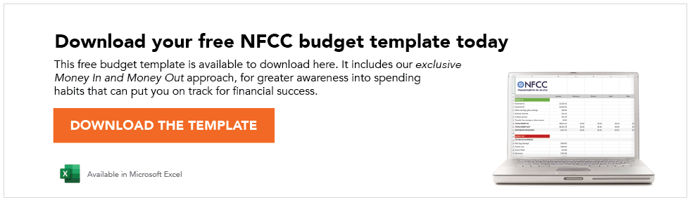 Download your free nfcc budget template